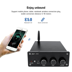 Image 2 - AIYIMA TPA3255 Bluetooth 5.0 서브 우퍼 증폭기 150Wx2 + 325W 2.1 디지털 전력 증폭기 스피커 앰프 홈 사운드 Amplificador