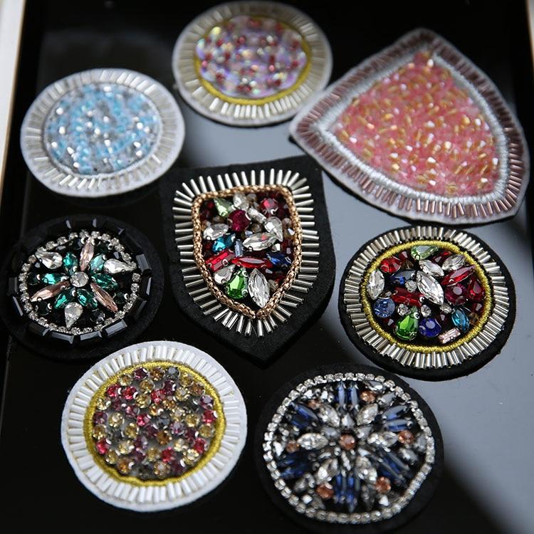 Hímzés javítás gyöngy jelvény Diamond divat ruházat Paillette - Művészet, kézművesség és varrás