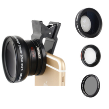 Zomei Lens 3 in 1 Cell Phone Camera Lens Kit 140 Degree Wide Angle Lens + 10X Macro Lens + CPL Polarizing Filter with 37m Clip