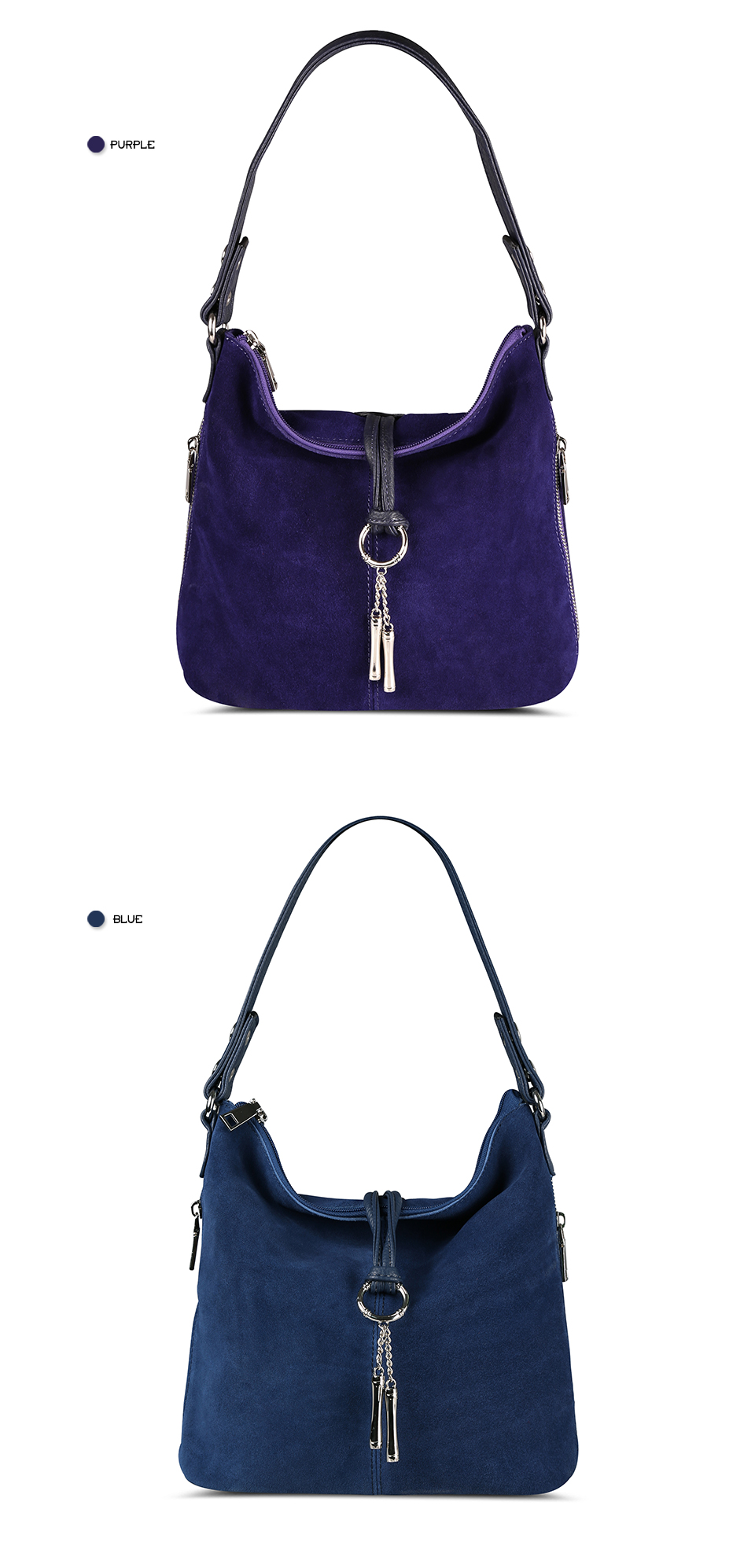 HTB1mhRJcgoSMeJjSspaq6zMOFXai - Fashion Women Split Leather Shoulder Bag Female Suede Casual Crossbody handbag Casual Lady Messenger Hobo Top-handle Bags