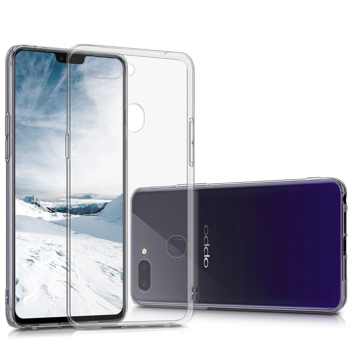 For <font><b>OPPO</b></font> <font><b>A33</b></font> A37 A39 A57 A59 A53 A3 A77 A71 A79 A73 A5 A7 A73s Ultra Thin Clear Transparent Soft Silicone TPU <font><b>Case</b></font> Cover image