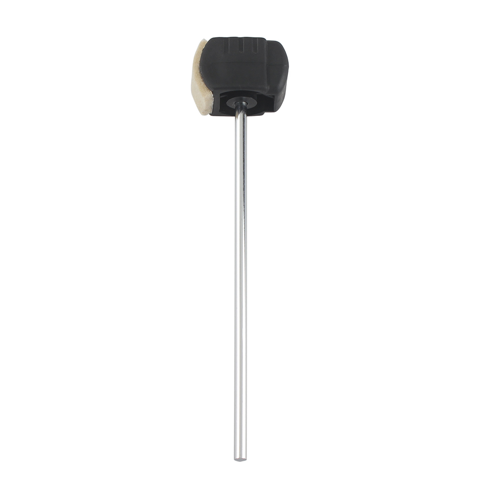 High-quality Bass Drum Pedal Beater Wool Felt Stainless Steel Handle Percussion Instrument Accessories Parts