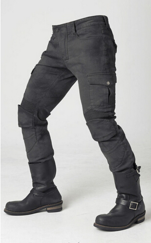 Newest Hot sales Uglybros MOTORPOOL UBS06 jeans Motorcycle ride jeans Leisure jeans motor pants two colors