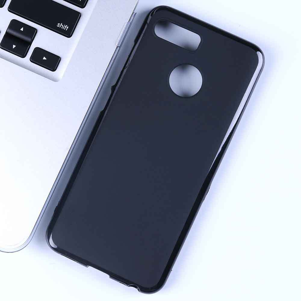 For <font><b>Lenovo</b></font> K5 Play Case 5.7'' Black Soft TPU Silicone Phone Case for <font><b>Lenovo</b></font> K5 Play Cover <font><b>L38011</b></font> Capa Back Shell image