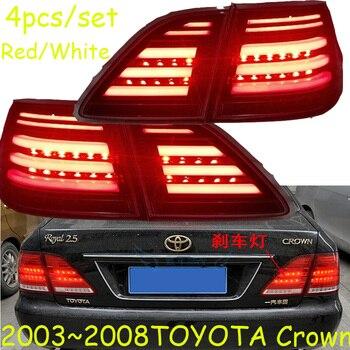Crown taillight,2003~2008;Free ship!LED,Crown rear light,Red/Black color optional,4ps/set,Crown fog light;Carmy,prado,Crown