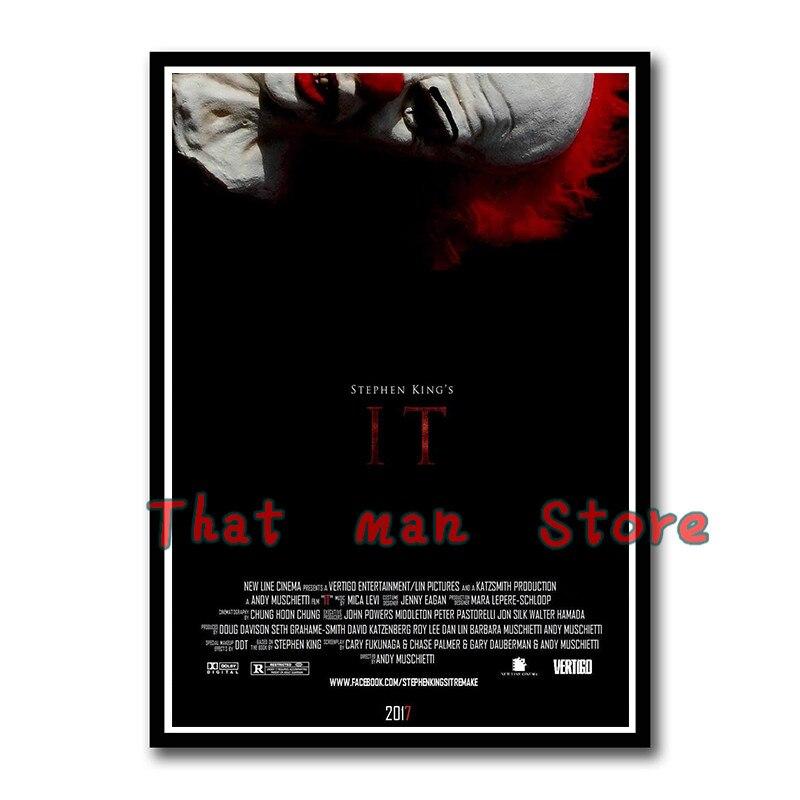 IT Movie 2017 Stephen King Horror Giant Wall Art Poster Print Various Sizes