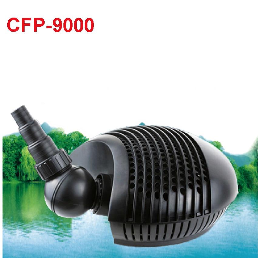 ФОТО 5pcs 95 W  CFP-9000  gardening pump submersible pond filter tank aquarium filter pump Pond water pump