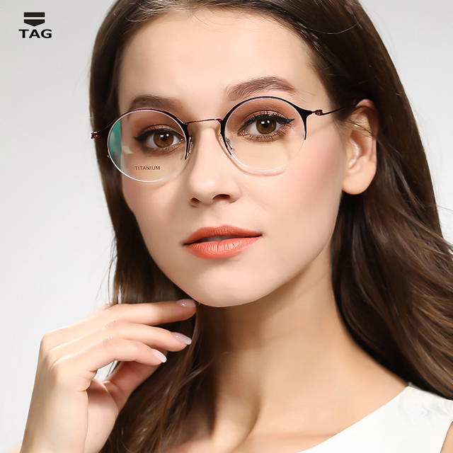 cc0f678300b summer latest Eyeglass frame men women ultra-thin ultra-light titanium  creative designer glasses
