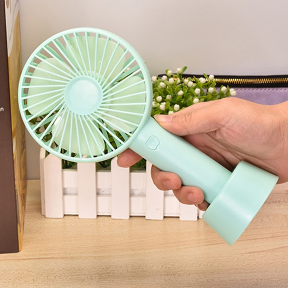 Summer Portable USB Air Conditioner Cooling Fans Personal Mini Air Cooler Cooling Fan Small Handheld Fan 3 files mini usb hand fan cooling for home outdoor portable fan air conditioner cooler fans with 1200ma rechargeable battery