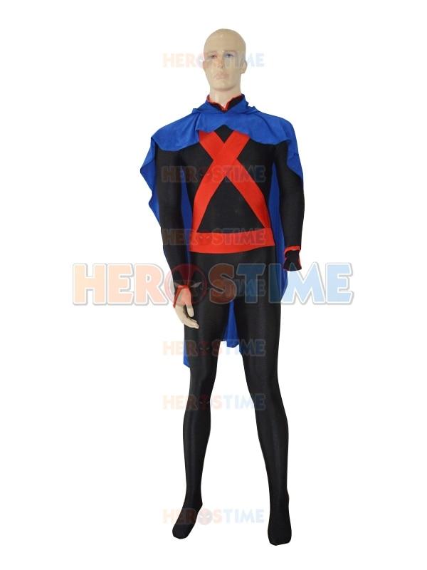Envío libre por encargo fullbody x-hombres spandex Superhero disfraces de  Halloween con el cabo fe7cbf6d67f7