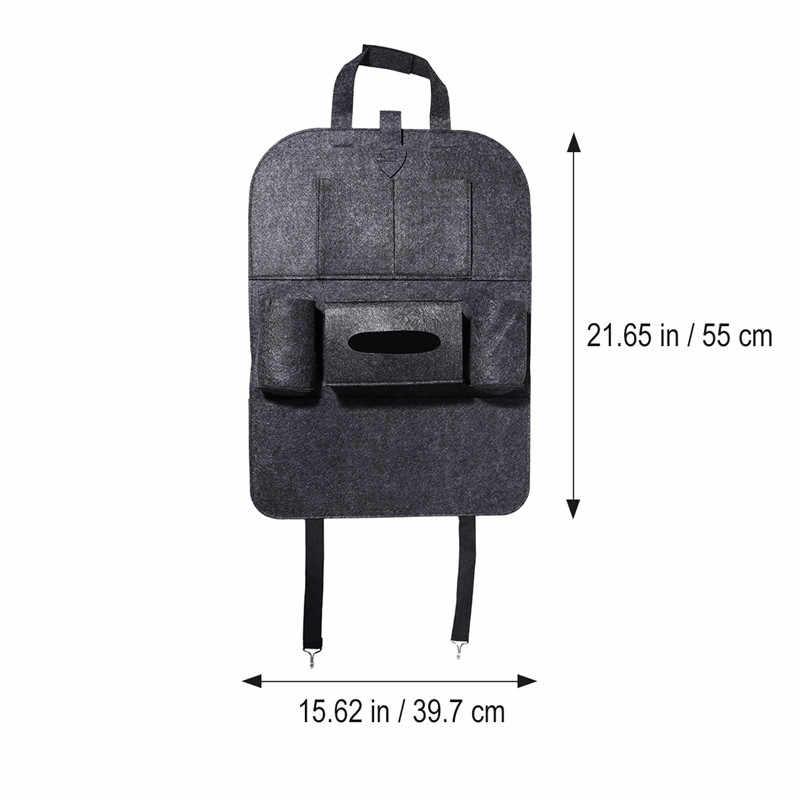 Автомобильная сумка для хранения Универсальная коробка на заднее сиденье сумка-Органайзер держатель для заднего кресла карманы автомобиля-Стайлинг протектор Авто аксессуары для детей