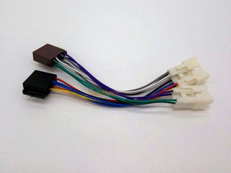 iso standard wiring harness radio adapter for toyota 1984. Black Bedroom Furniture Sets. Home Design Ideas