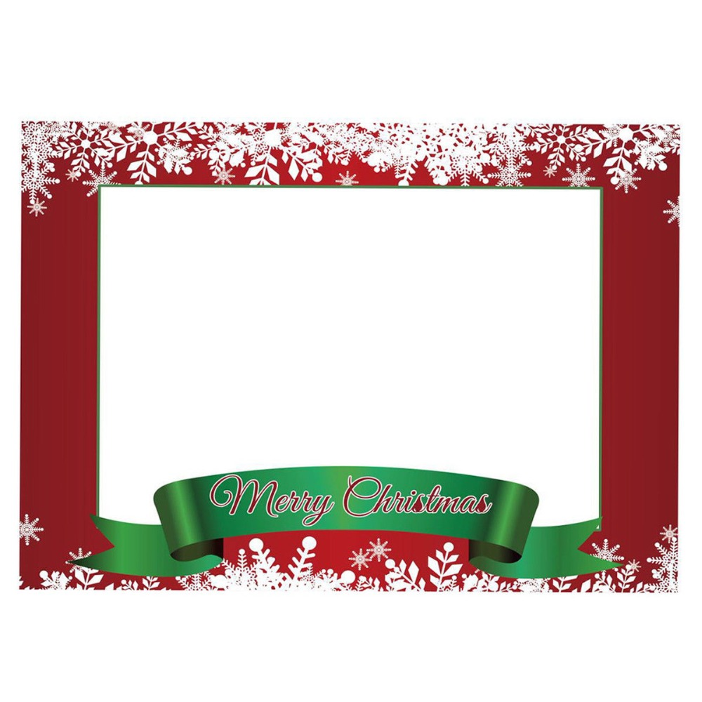 Party Photo Props Frame Let/'s Party Photobooth Frame Props Photo Booth Selfie Picture Frame 26.77 x 18.9 Inches