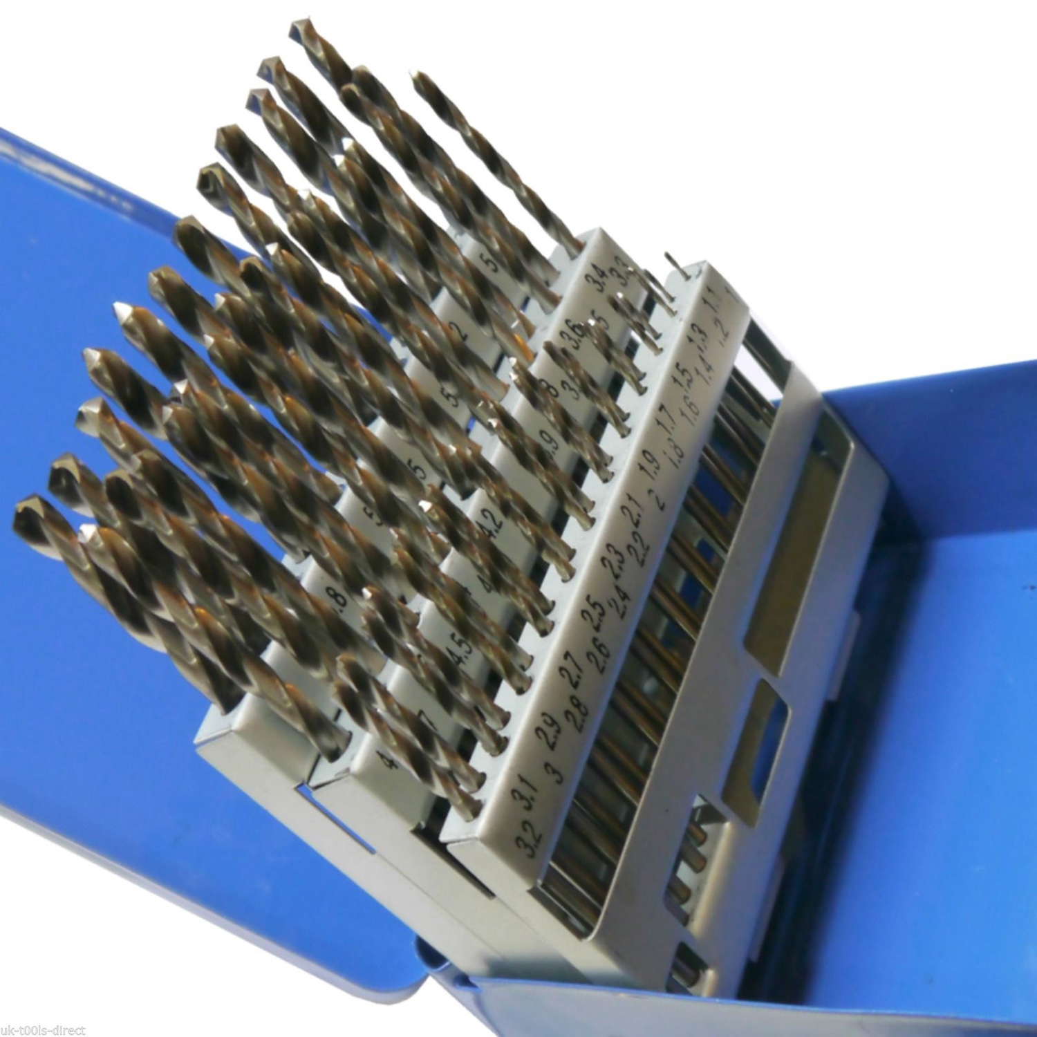 Image 3 - 51pc Engineering Hss Drill Bit Set Hss 1   6mm in 0.1mm Increments-in Drill Bits from Tools