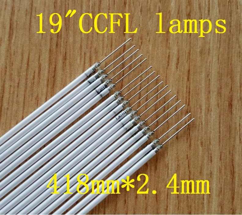 """30 أجزاء/وحدة 418 مللي متر * 2.4 مللي متر CCFL مصباح الخلفية ل 19 """"19 بوصة شاشات كريستال بلورية"""