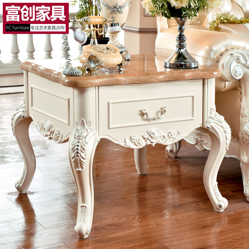 European Style Coffee Table Corner A Few French Marble TV Cabinet  Combination Of Several Parties Korean Side Teasideend In Coffee Tables From  Furniture On ...