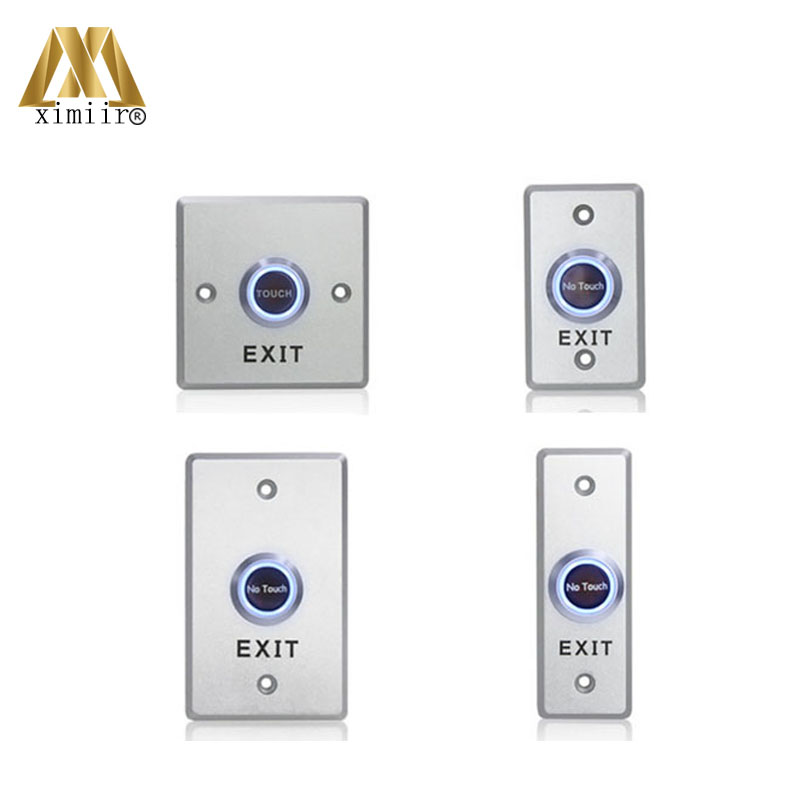 ET02A Press Button Door Button Access Control Exit Button Door Open Exit Switch Door Release Exit Button