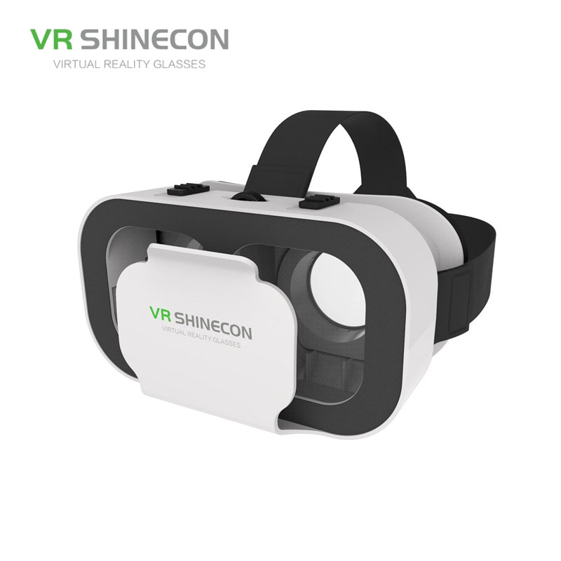 VR SHINECON G05A 3D VR Glasses Headset for 4.7-6.0 inches Android iOS Smart Phones