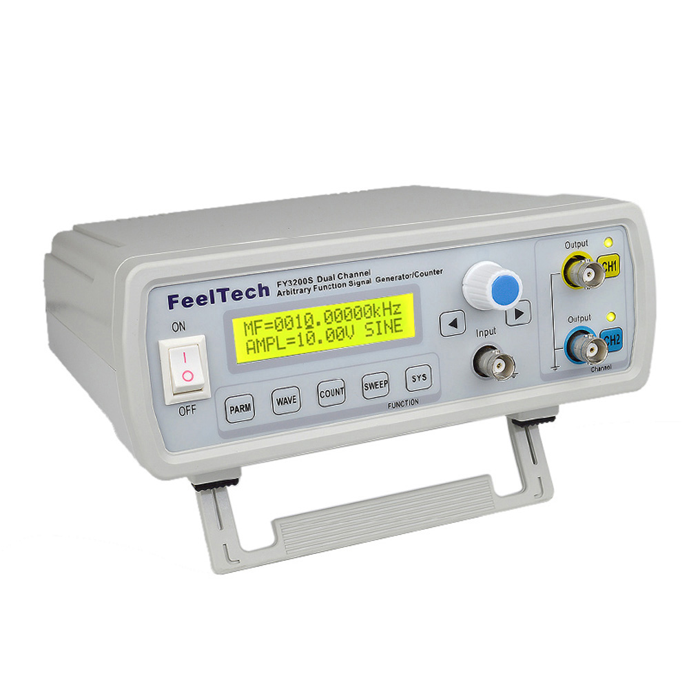 Digital DDS Function Generator High Precision Signal Generator Dual channel Frequency Generator Sine Wave 12Bits 250MSa