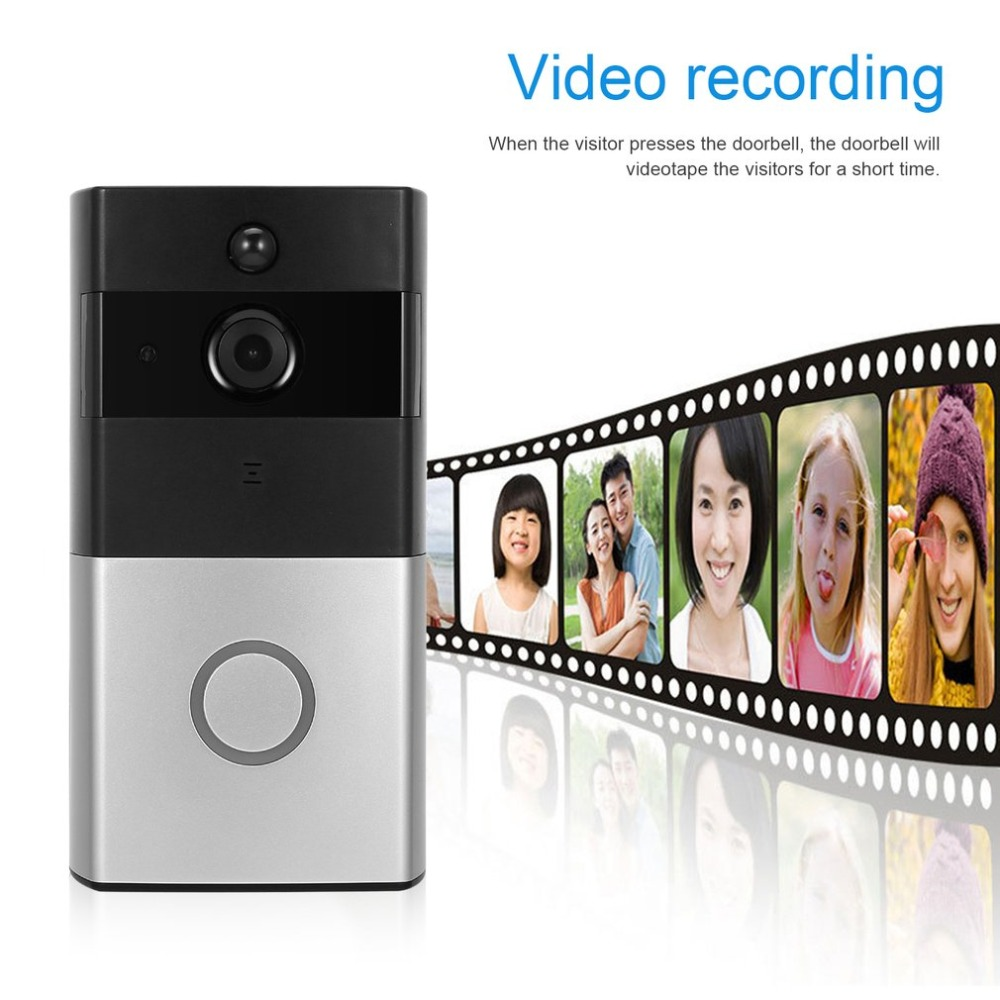 Wireless Video Doorbell WIFI Remote Intercom Detection Electronic HD Visible Monitor Night Vision Intelligent Doorbell intelligent doorbell wireless video doorbell wifi remote intercom detection electronic hd visible monitor night vision