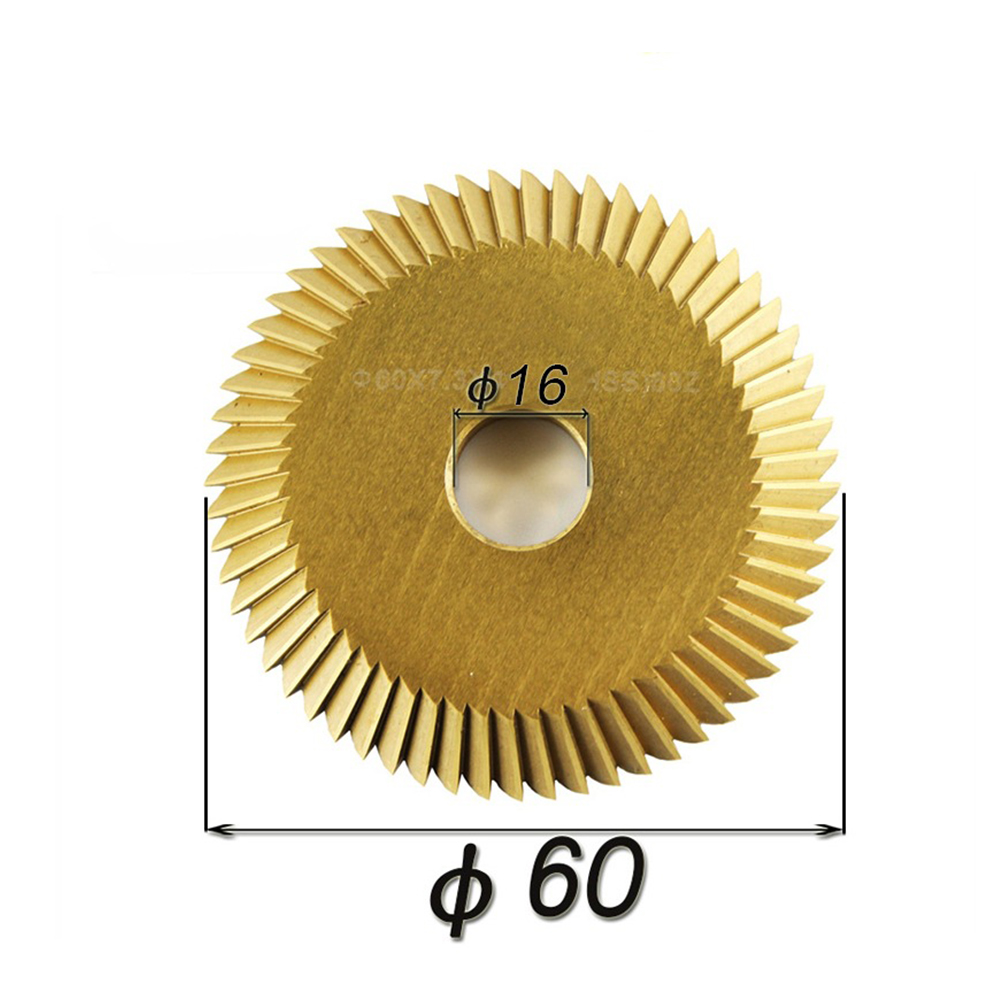 1PC Cutting Machine Blade 90 Tooth HSS Circular Saw Blades 60*6*16*90T for Wenxing 268A Power Tools china manufacturing circle cutter blade for cutting rubber circular slitting machine blades
