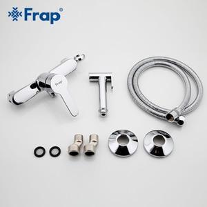 Image 5 - FARP robinets de Bidet, salle de bains, douche en laiton massif, pulvérisateur de toilettes, fonction de bidet, douche musulmane, robinet de douche cylindrique