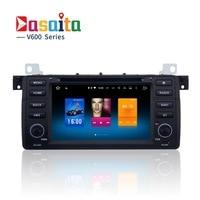Car 1 Din Android GPS For BMW E46 M3 318i 320i Autoradio Navigation Head Unit Multimedia