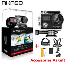 AKASO Brave 4 WIFI Ultra HD 4K Outdoor Action Camera HD Wate