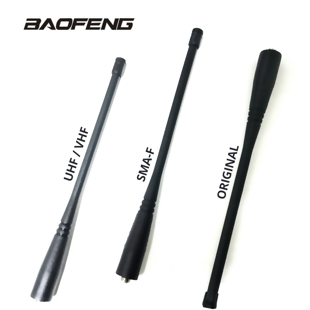 Baofeng UV 5R Original Antenna SMA-F UHF VHF For Walkie Talkie Portable Ham Radio UV-5R BF-888S UV-5RE UV-82 UV-3R Gain Antenna