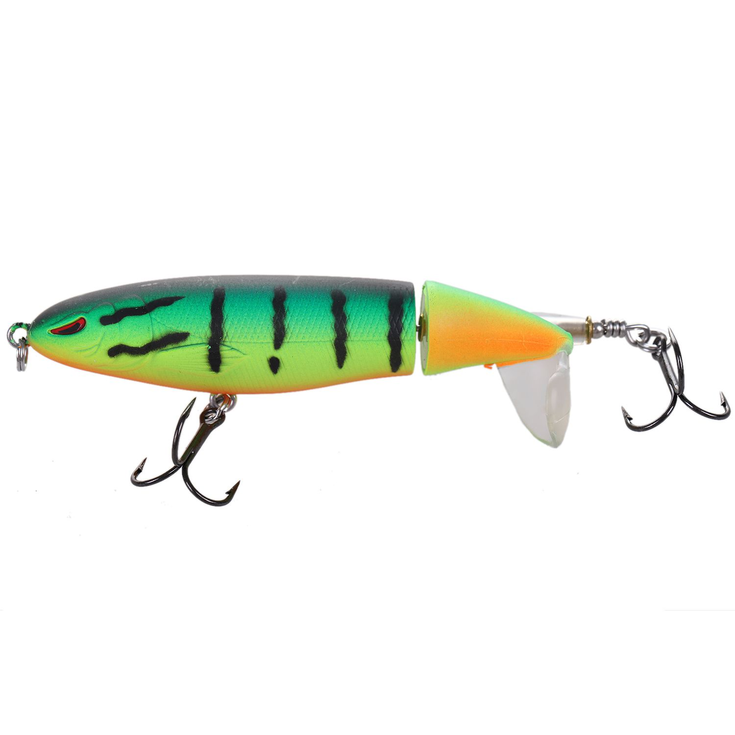 Whopper Popper Topwater Fishing Lure 13g 9cm Artificial Bait Hard Fishing Plopper Hook Soft Rotating Tail Fishing Tackle 30pcs set fishing lure kit hard spoon metal frog minnow jig head fishing artificial baits tackle accessories