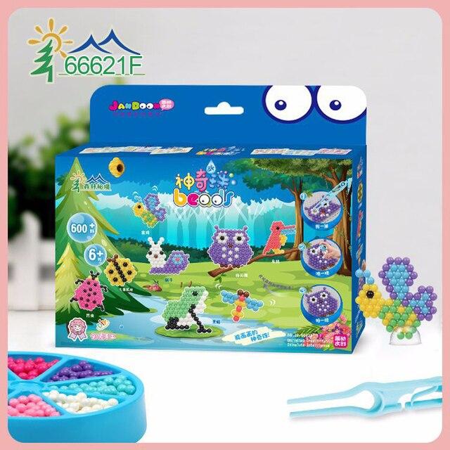 DOLLRYGA Water Beads Set Education Spray Bead 66621C Quality juguetes Beads DIY Toys for Children Aqua Perlen Kid Bead Girl Gift
