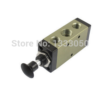 3R310 10 2 Position 5 Way G3 8 Port Size Hand Push Pull Mechanical Valve цена