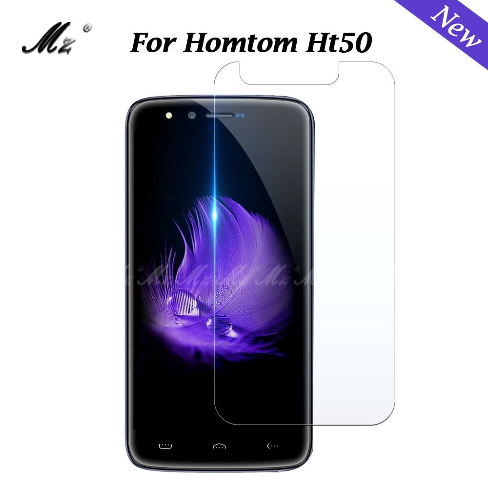 For Homtom Ht50 Glass Homtom Ht50 Pro Tempered Glass For Homtom Ht 50 Pro Screen Protector Film Protective 9 H 2.5D Glass Film(China)