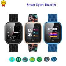 2018Smart Watch IP67 waterproof Support sleep Blood Pressure monitor Multi Sport Mode Fitness bracelet HeartRate Smart wristBand