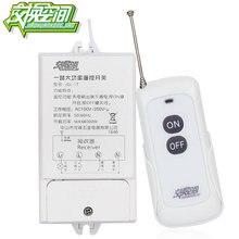JGL-1T 800 м 85-220 В 30А на большие расстояния один способ дистанционного управления выключатель питания 4000 Вт высокой мощности