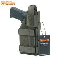 EXCELLENT ELITE SPANKER Tactical Combat Universal Pistol Holster Outdoor Hunting Training Camo Gun Holster Military Equipment