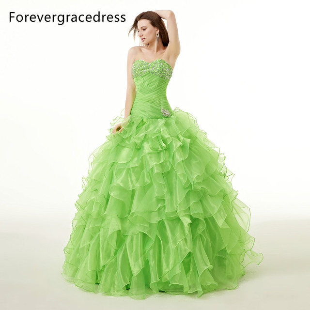 Forevergracedress Real Images Quinceanera Dress Gown. Add Cart.  149.8.  Flowers Long Sleeves Mermaid Evening ... 449eb7affa06