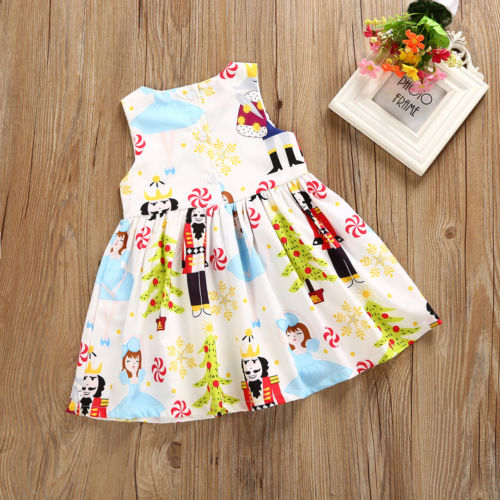 Infant-Girls-Princess-White-Dress-Kids-Baby-Party-Costume-Pageant-Round-Neck-Floral-Summer-Xmas-Sleeveless-Casual-Girl-Dresses-2