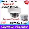 2015 Newest English Version IP Camera DS 2CD2132F I 3MP Mini Dome Camera 1080P POE IP