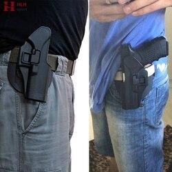 Glock 17 Tactical Holster met Adapter Serpa Quick Riem Paddle Loop Pistool Holster voor Glock 17 19 22 23 31 32 zwart