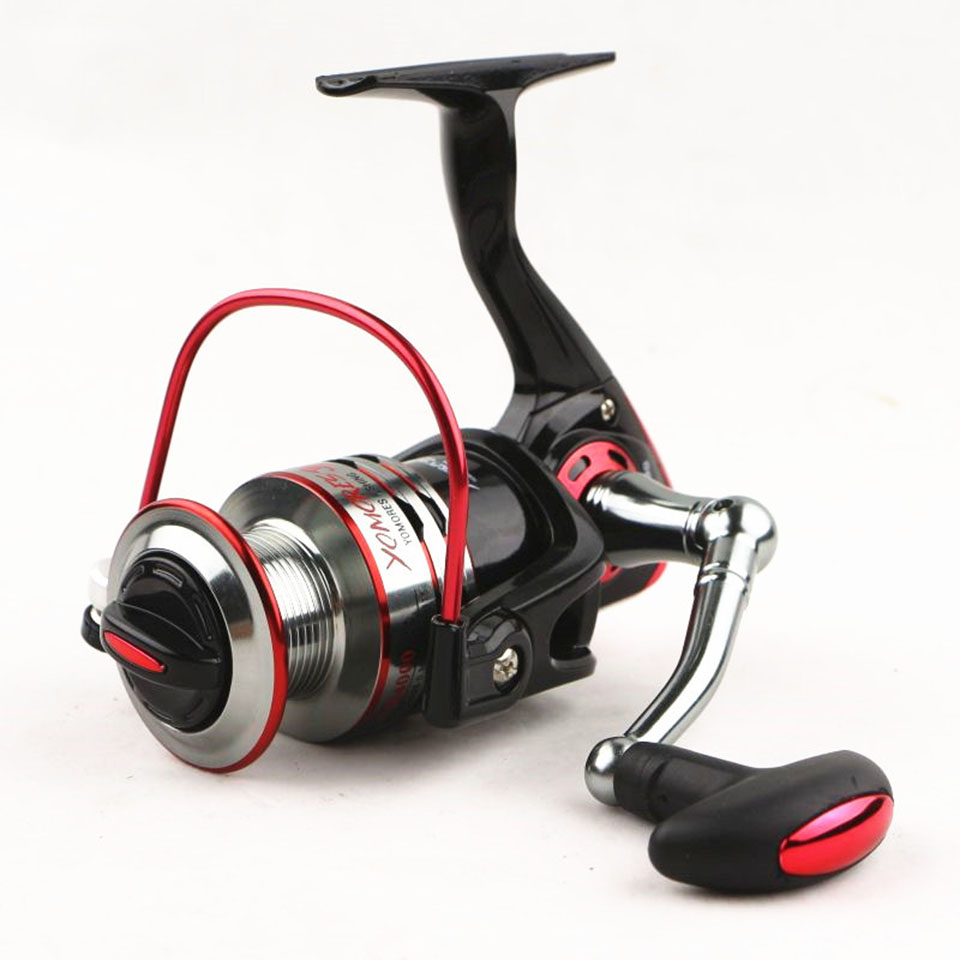 10+1BB 5.1:1 Quality Spinning Fishing Reel Metal Spool Spinning Reel Metal Front Drag 1000-7000 CNC Rocker