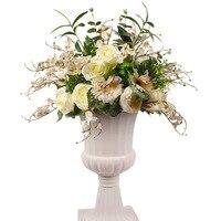 High Quality Artificial Flower Wall Wedding Arch Decoration Centerpiece Backdrop Table Centerpiece Flower Ball Background Decor