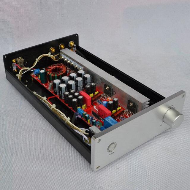 Best Price DIY DC12V HF-102 HIFI fever 2X68W 2.0-channel amplifier LM3886 pure power amp Car / home amplifier