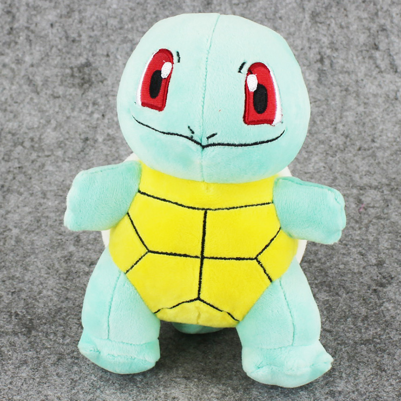 10pcs lot 18cm Anime Squirtle Plush Toy Squirtle Stuffed Doll for Kids Cartoon Children s Gift