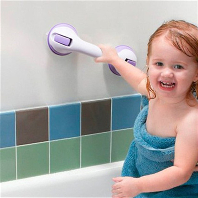 Safer Strong Sucker Helping Handle Hand Grip Handrail Keep Balance for children old people Bedroom Bathroom Accessories