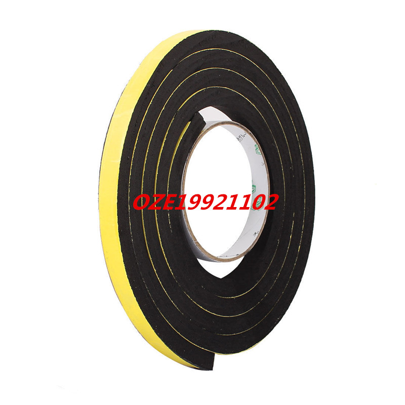 12 x 10mm Single Sided Self Adhesive Shockproof Sponge Foam Tape 2M Length 2pcs 2 5x 1cm single sided self adhesive shockproof sponge foam tape 2m length