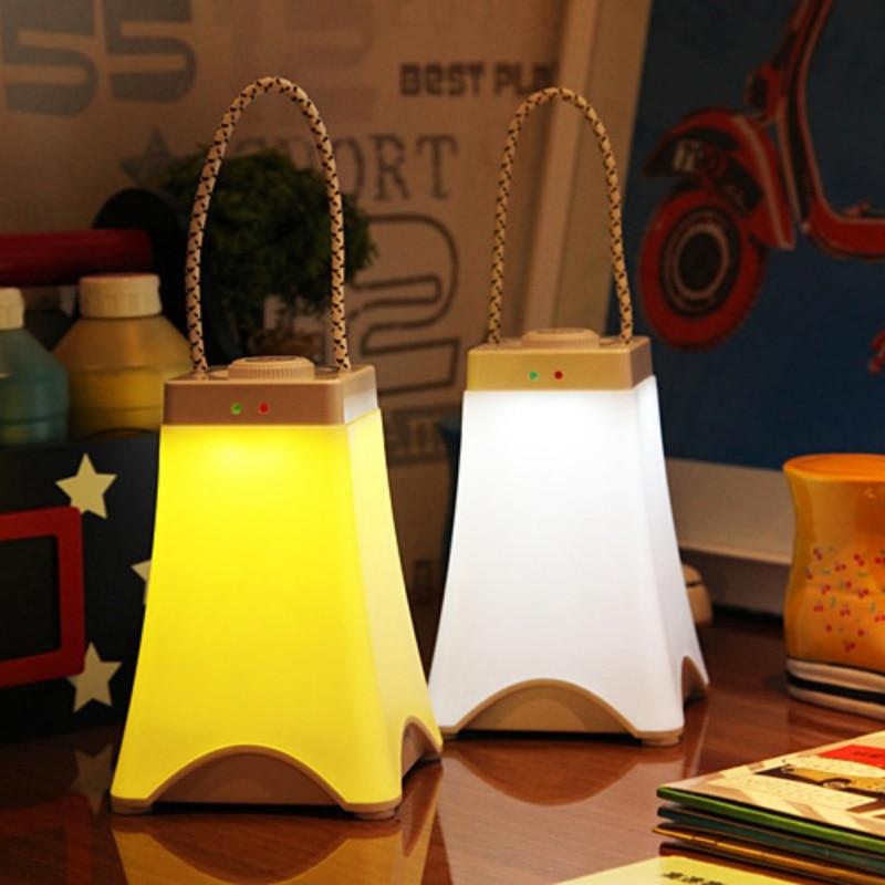 Creative Portable Night Light USB Camp Lamp Promise Dimmer LED Bedside Bedroom Emergency Night Light