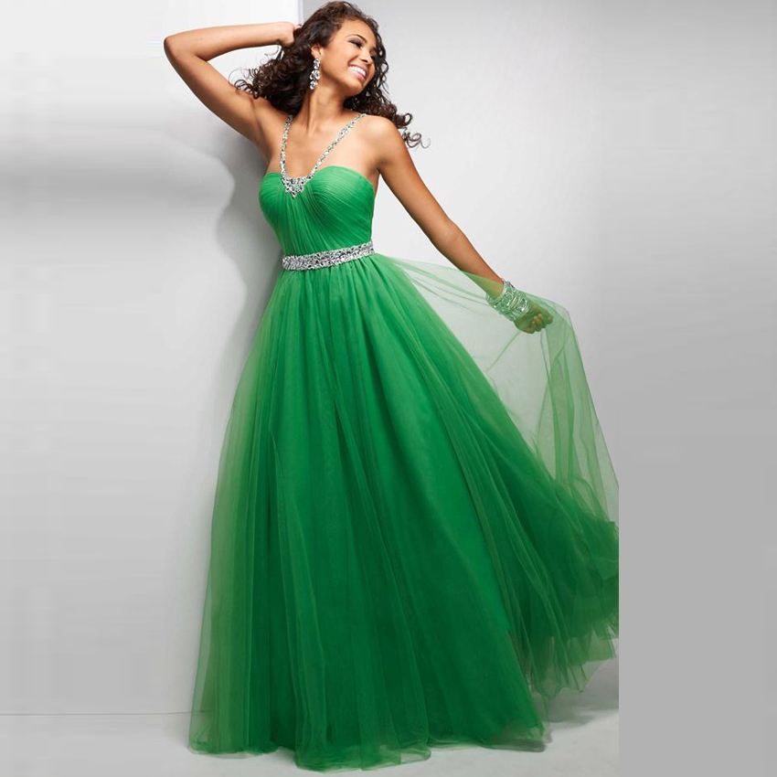 c289643de77b HUIFANY Hot Sale Beaded Empire Haute Couture A Line Dresses 2017 Tulle  Spaghetti Strap Exquisite Party Dress robe de soiree-in Evening Dresses  from Weddings ...