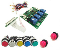 JY 21 With Button START 4 Digits Coin Operated Timer Board For 1 4 Devices Machines