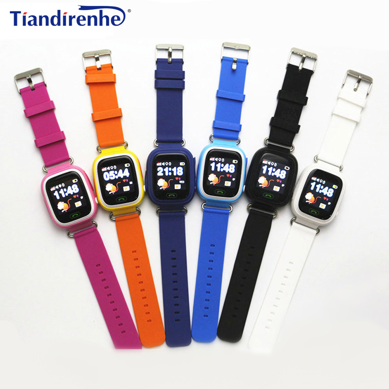 GPS Smart Watch baby watches Q90 Wifi Touch Screen SOS Call Location DeviceTracker Kid Safe Anti-Lost Monitor Smartwatch PK Q50